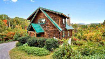 bliss romantic 1 bedroom cabin in gatlinburg tn