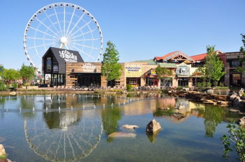The Ole Smoky Moonshine Barn at The Island in Pigeon Forge.