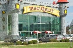 MagiQuest in the Smoky Mountains.