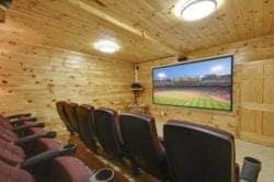 fox hollow lodge movie room