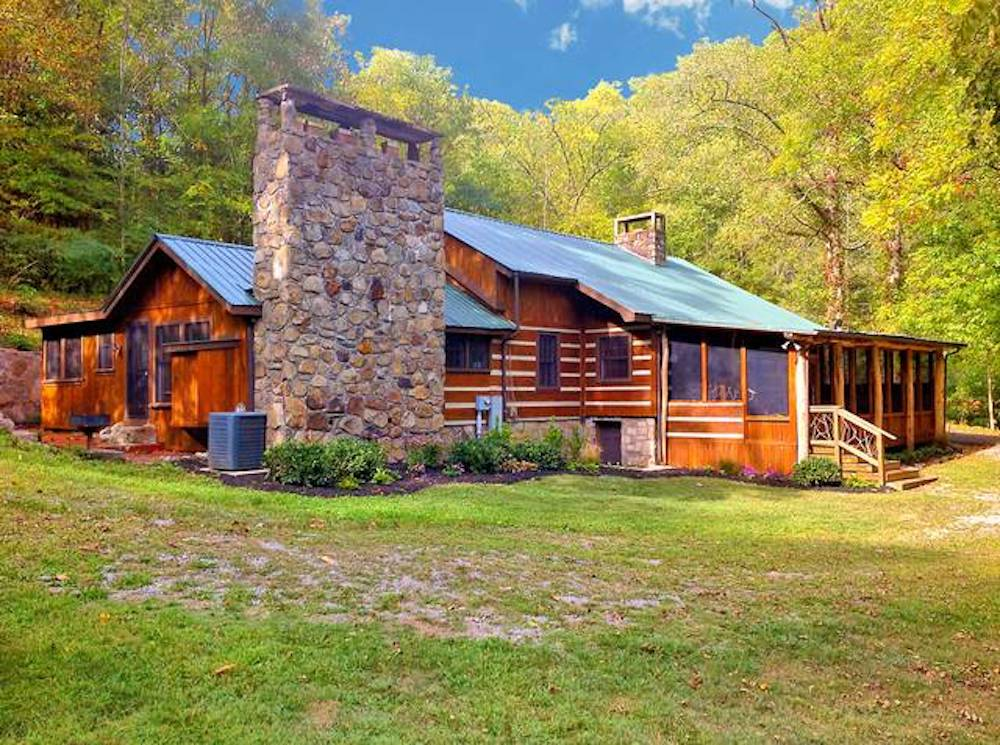 The Fish House cabin in the Smoky Mountains