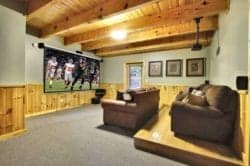 theater room in gatlinburg