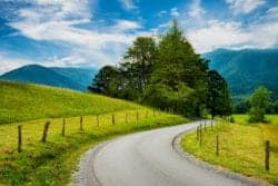 cades cove road