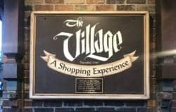 sign for The Village in Gatlinburg