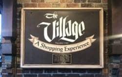 sign for The Village in Gatlinburg