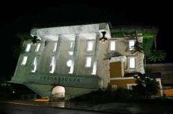 Wonderworks in Pigeon Forge at night