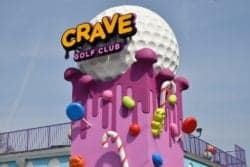 crave golf club in pigeon forge