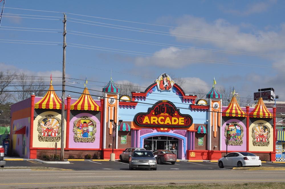big top arcade